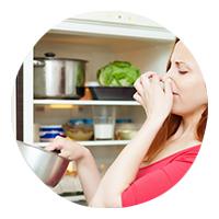 запах из холодильника